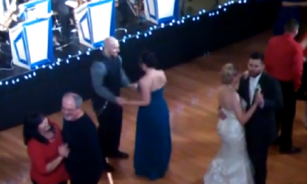 The Best Dance Moves You'll Ever See at a Wedding.