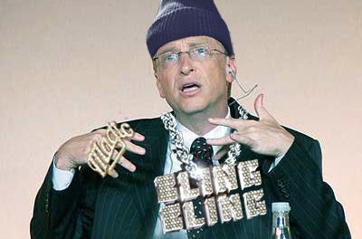 Bill Gates proves he's a gangster