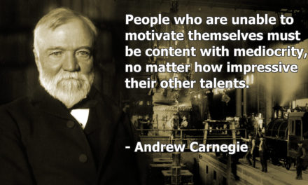People Who Are Unable to Motivate Themselves Must Be Content With Mediocrity.
