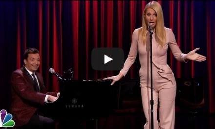 Gwyneth Paltrow & Jimmy Fallon Broadway Rap.