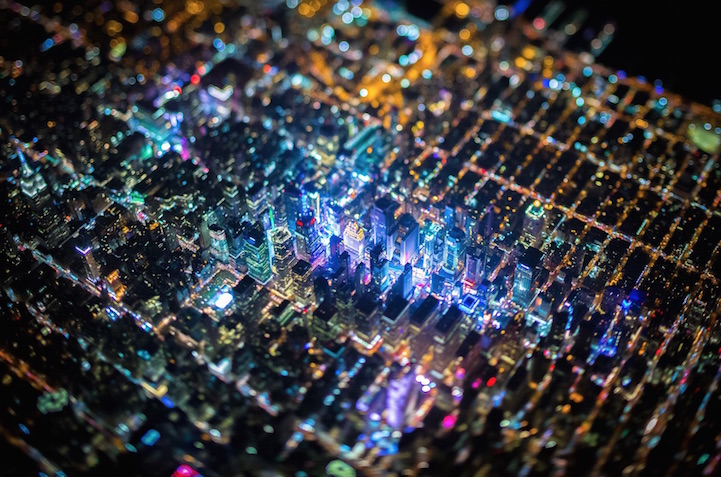 NYC Skyline from Above