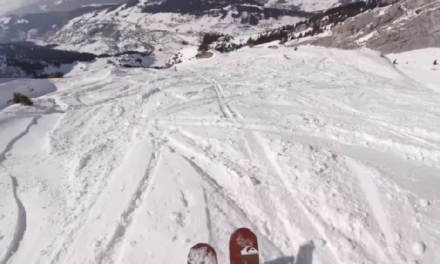 Find Out How a Pro Skis Down a Mountain.
