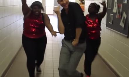 High School Re-Creates 'Uptown Funk' In One Take.