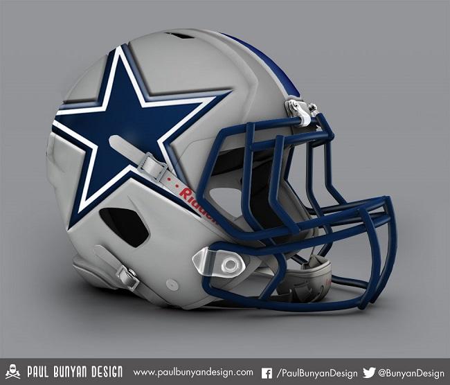 12 - Redesigned-NFL-Helmets