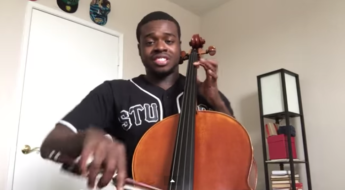 Beatboxing Cellist Covers Modern Songs With a Twist.