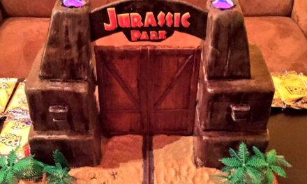 Awesome Jurassic Park Birthday Cake