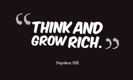 """""""THINK AND GROW RICH"""" By Napoleon Hill."""