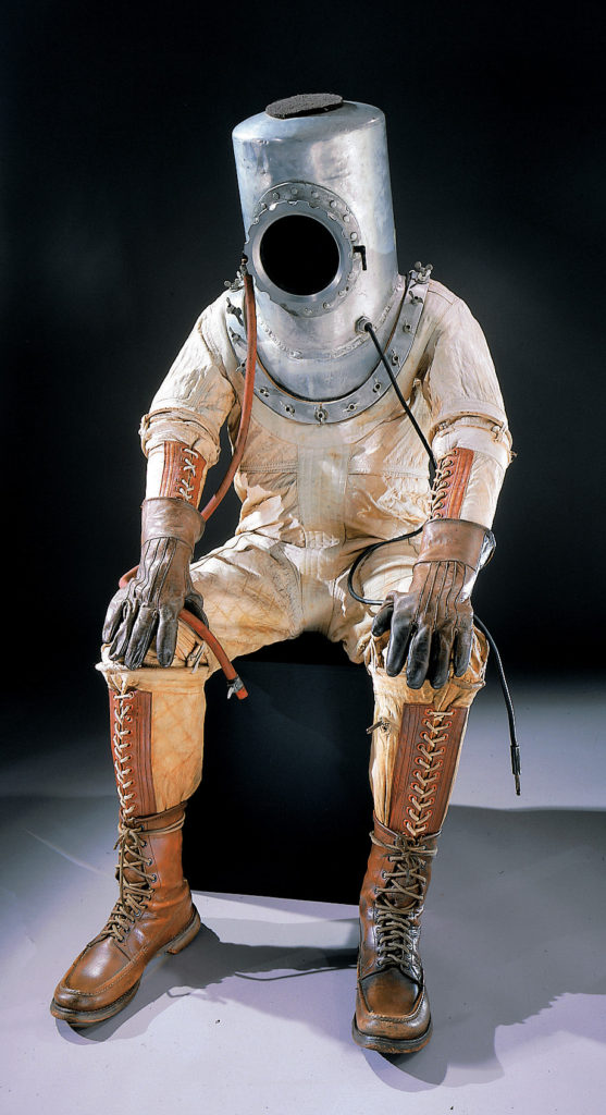history-of-spacesuits