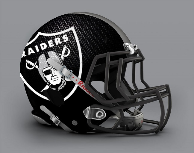 NFL Helmets Get Jaw Dropping Redesign.