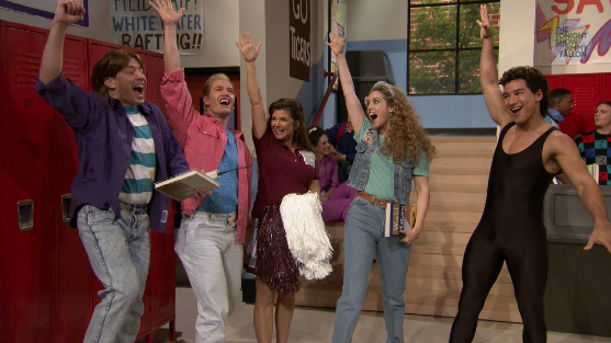 Fallon's 'Saved By The Bell' Reunion Wins the Internet.