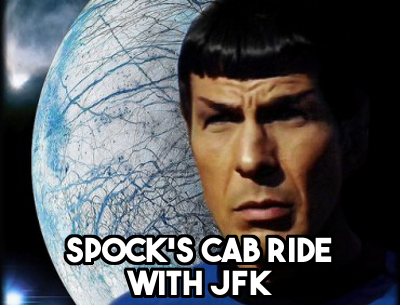 Leonard Nimoy's cab ride with JFK