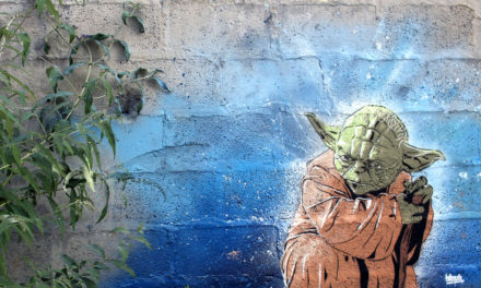 The Force is With This Star Wars Themed Street Art.