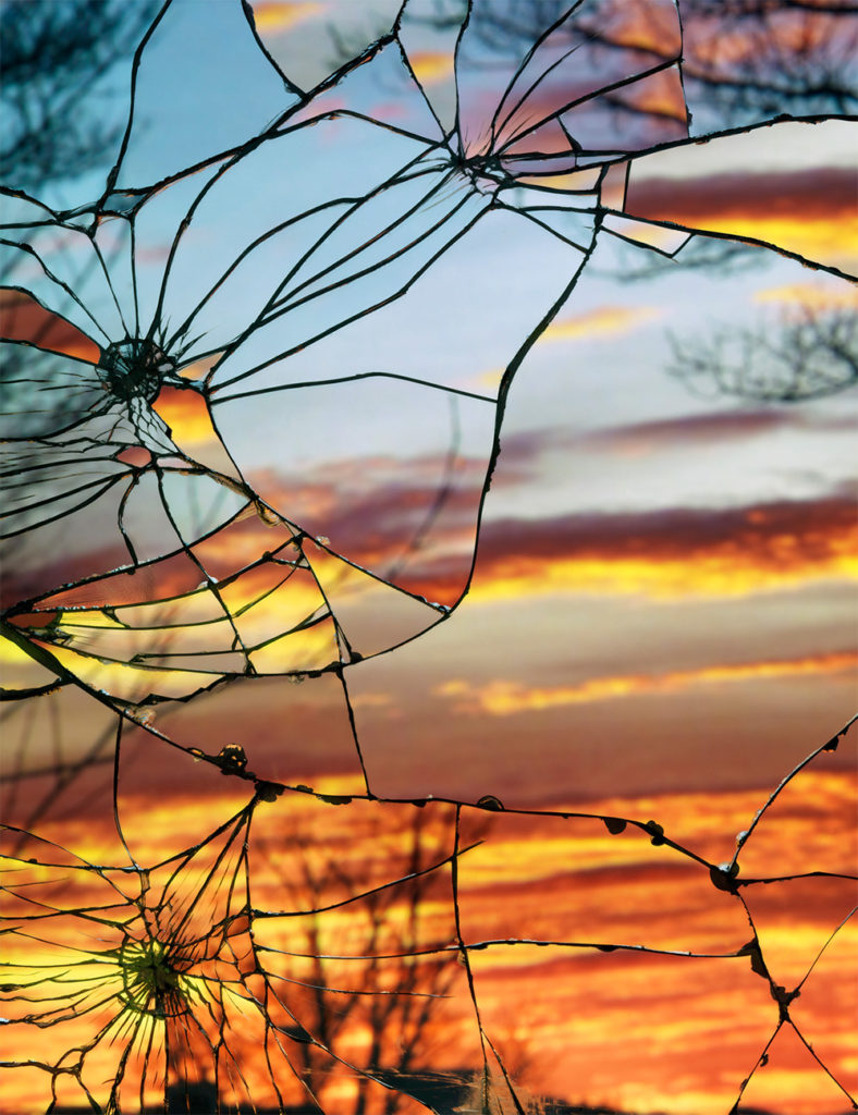 1 - shattered mirror sunsets