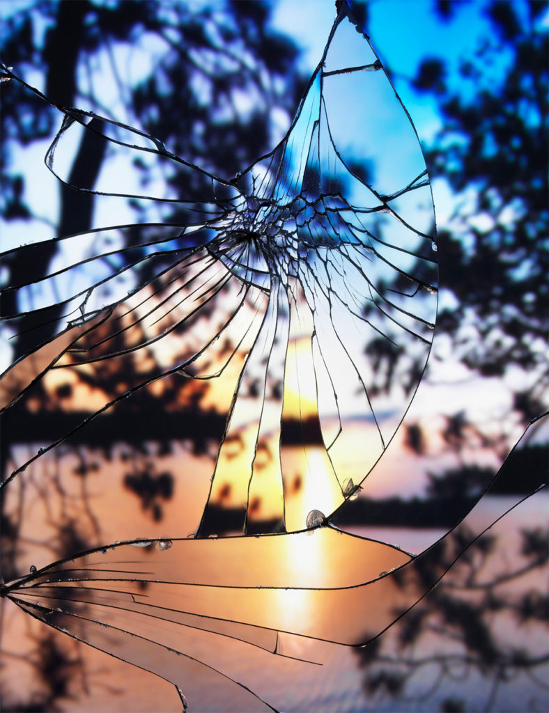2 - shattered mirror sunsets
