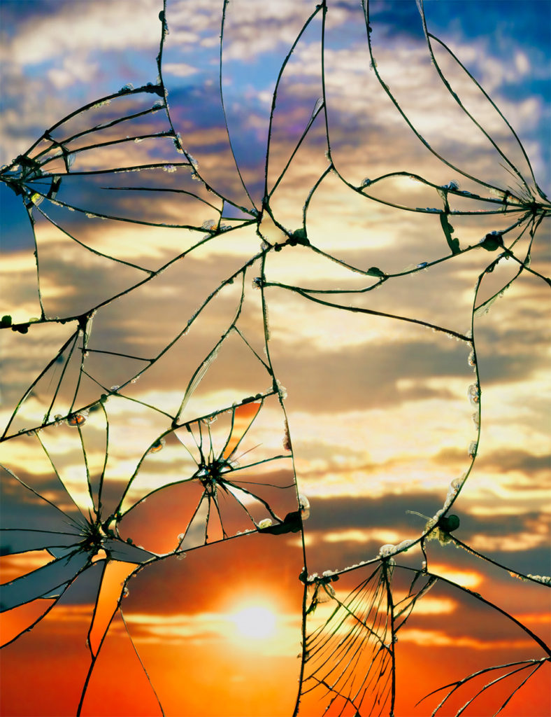 3 - shattered mirror sunsets