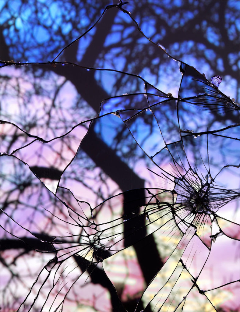 4 - shattered mirror sunsets