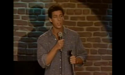 Adam Sandler's Early Stand Up Routine