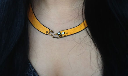 DIY Adventure Time Necklaces.