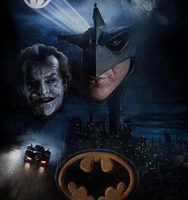 Fan Made Movie Posters from 1989 Batman Film.