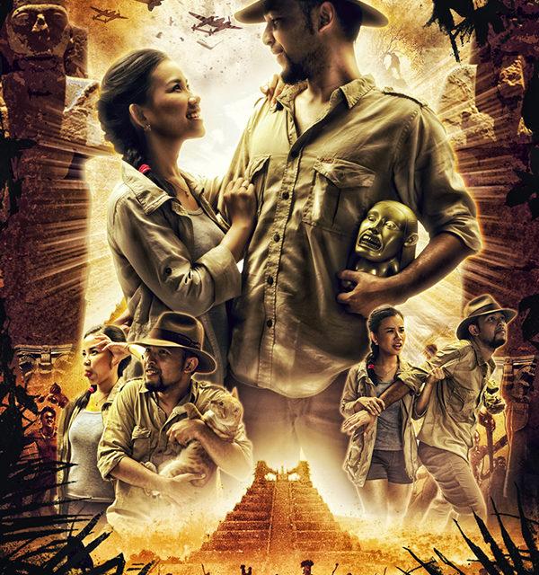 "Indiana Jones ""Raiders of the Lost Ark"" Wedding Pictures"
