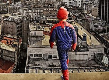 Becoming a Real Life Superhero [Comic]