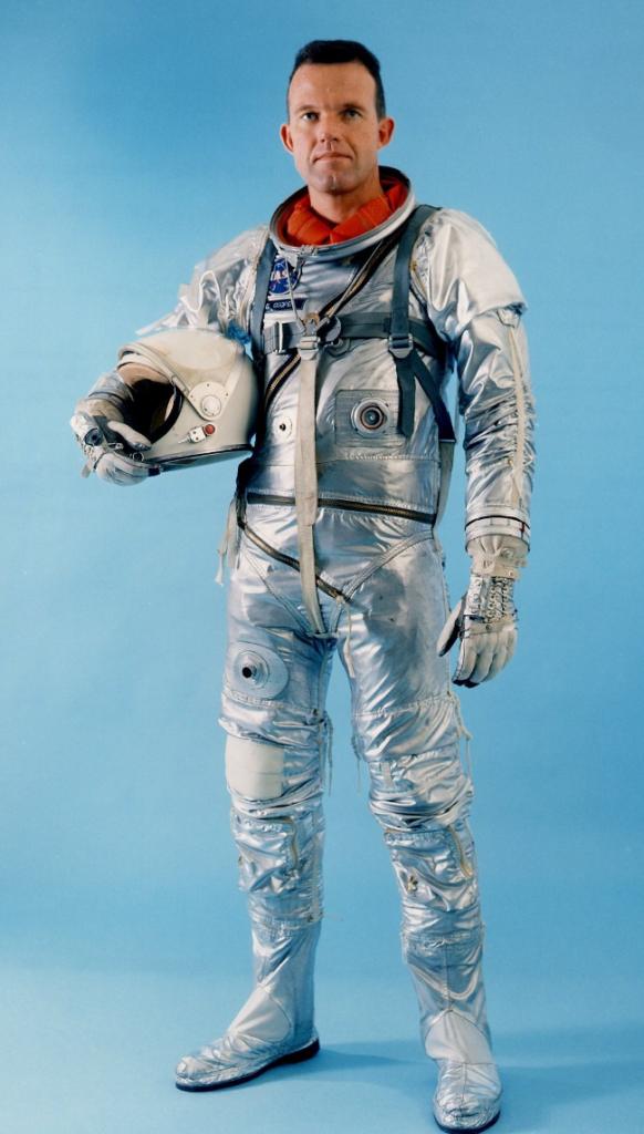 Gordon Cooper, pilot of the final Mercury spaceflight, 1963.