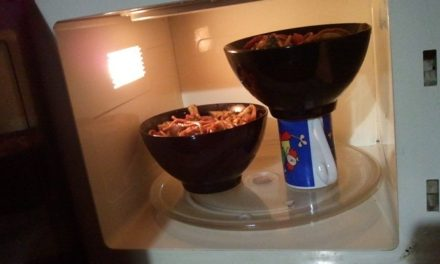 Lifehack #1: Microwave More Than One Bowl at a Time