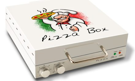 Pizza Oven Designed to Look Like a Pizza Box