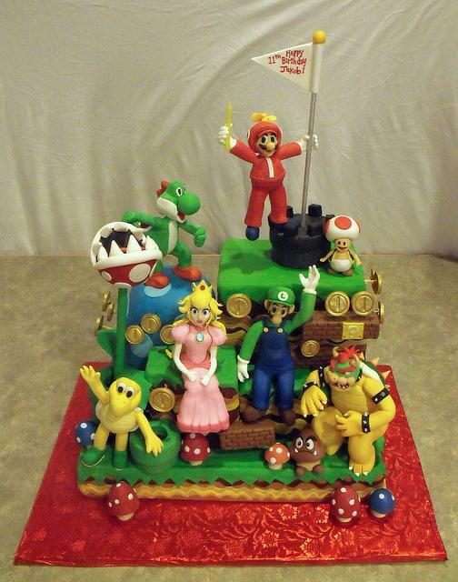 07 - Mario Cake