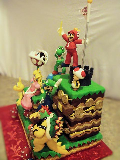 08 - Mario Cake