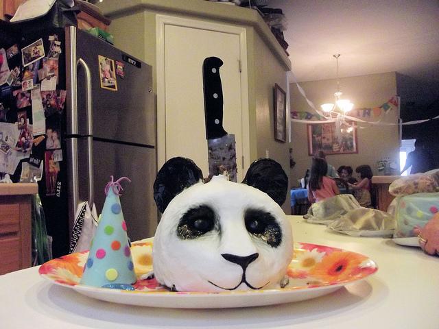 13 - Panda Cake