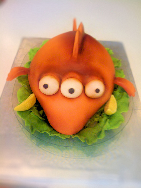 14 - Simpsons Cake