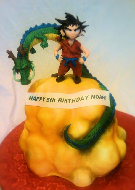 16 - Dragon Ball Z Cake