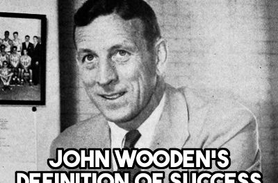 John Wooden on Success