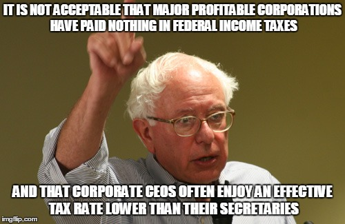 2 - Bernie has it right on Tax Reform pt 1
