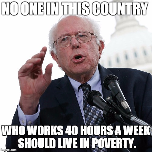 4 - Bernie on income inequality