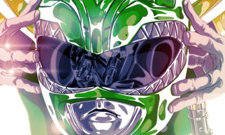 New Power Rangers Comic Art