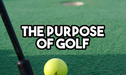 The object of golf is to play the least amount of golf