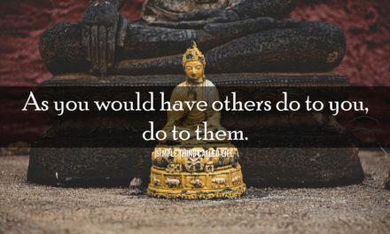 Always practice The Golden Rule