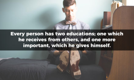 Every Person Has Two Educations