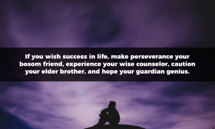 If You Wish Success In Life